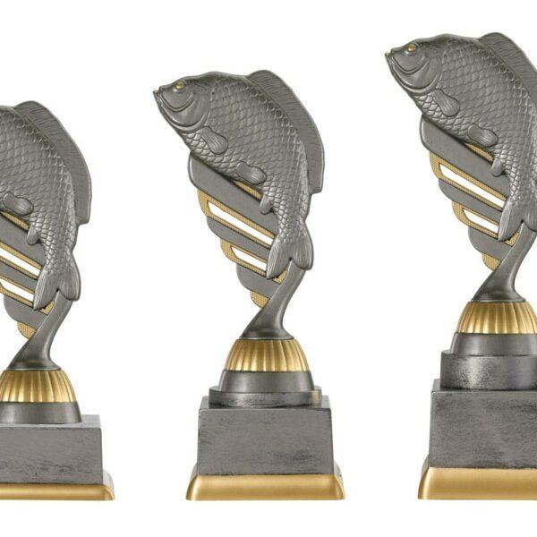 Vis beker goud