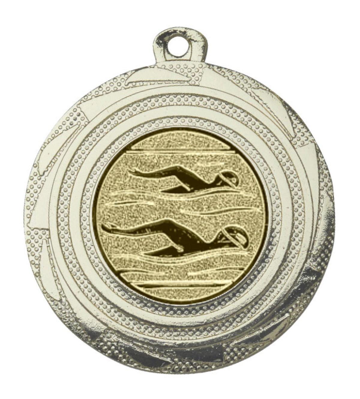 zwemmedaille goud