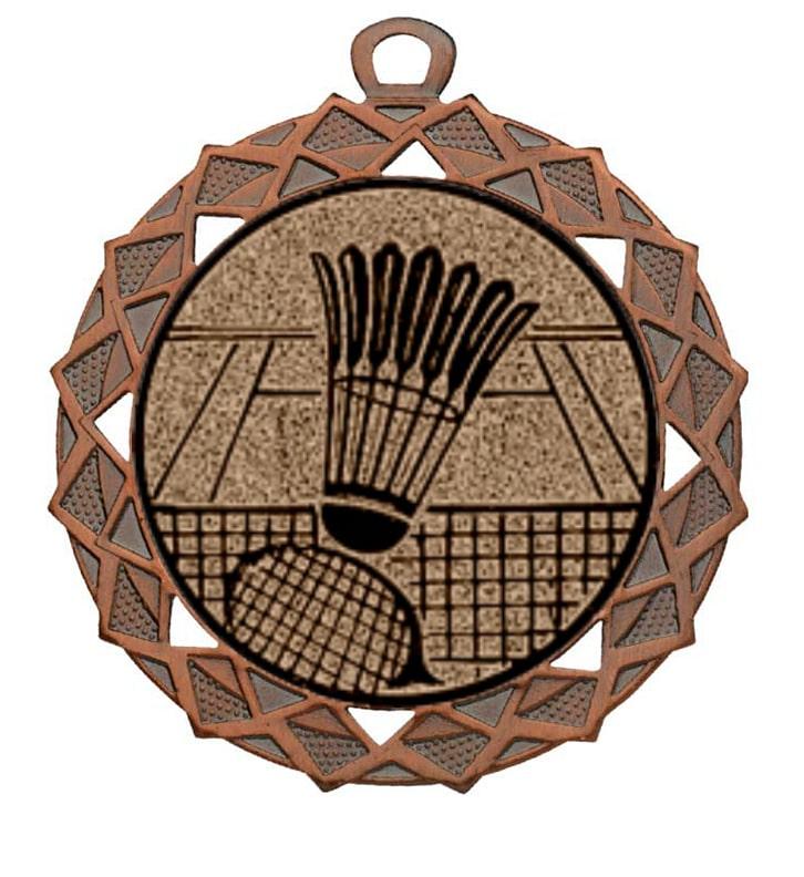 Badminton medaille