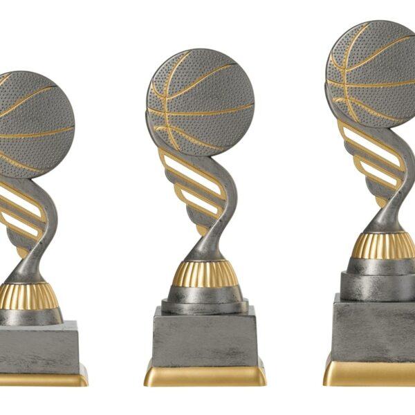 Basketbal beker goud