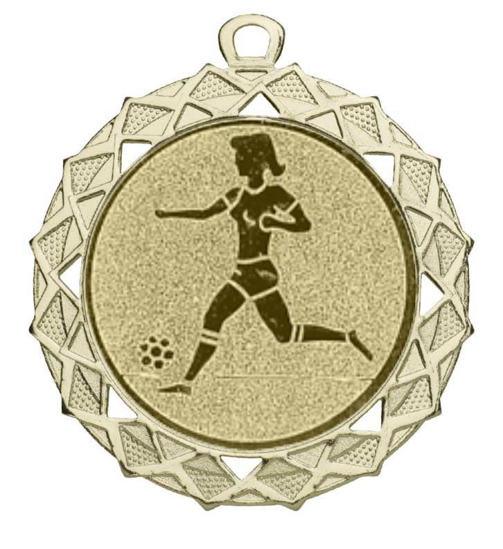 Voetbal medaille dames