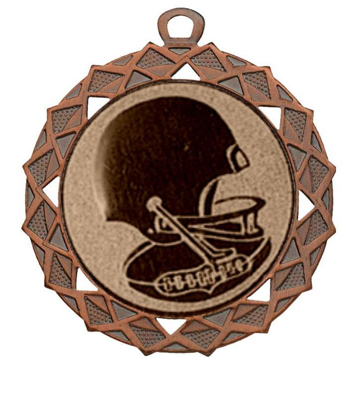 american football medaille