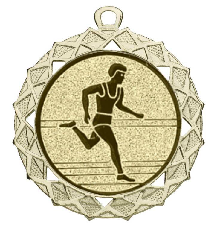 Hardloop medaille