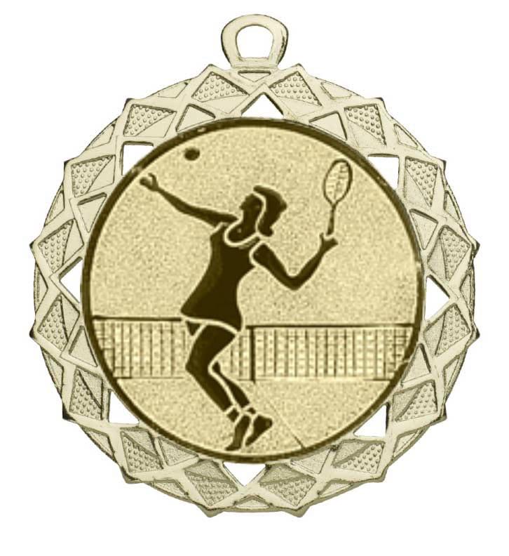 Tennis medaille dames
