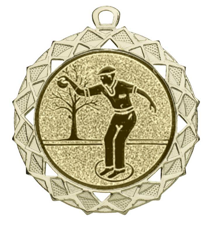 jeu de boules medaille