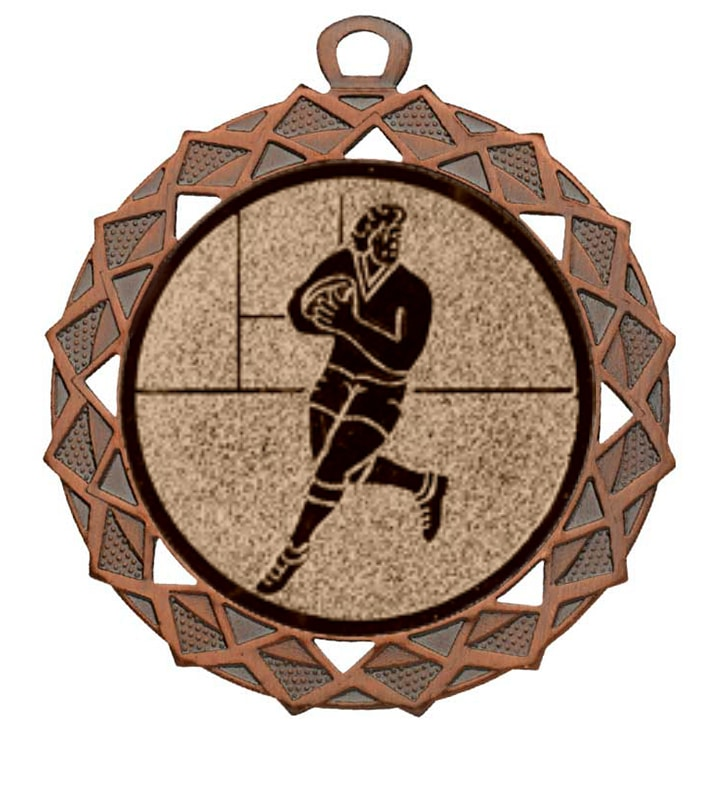 Rugby medaille