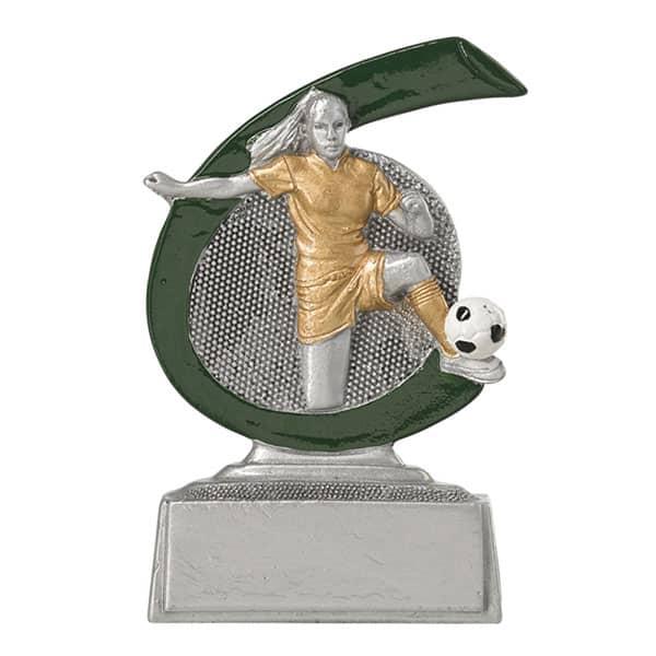 Voetbal trofee dames