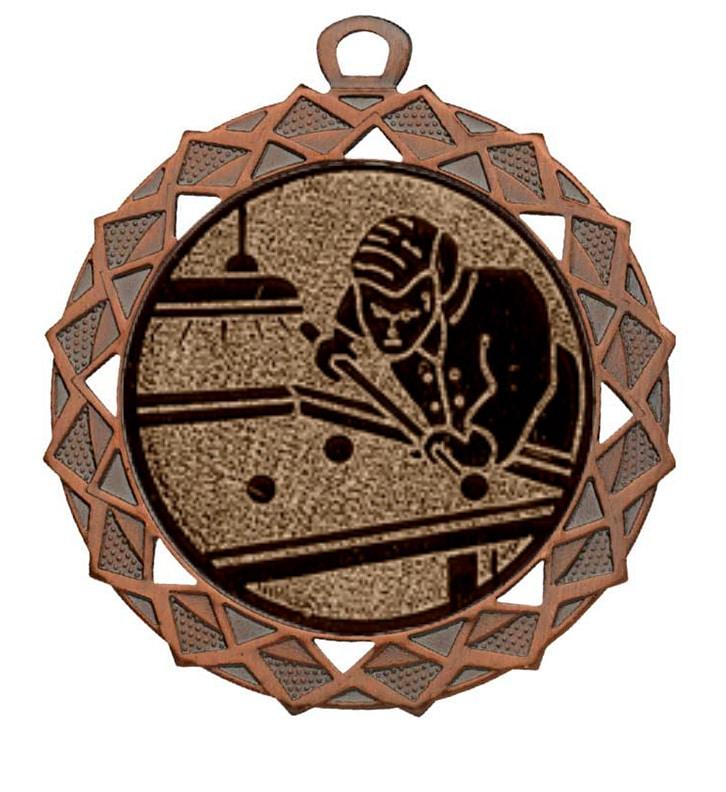 biljart medaille brons