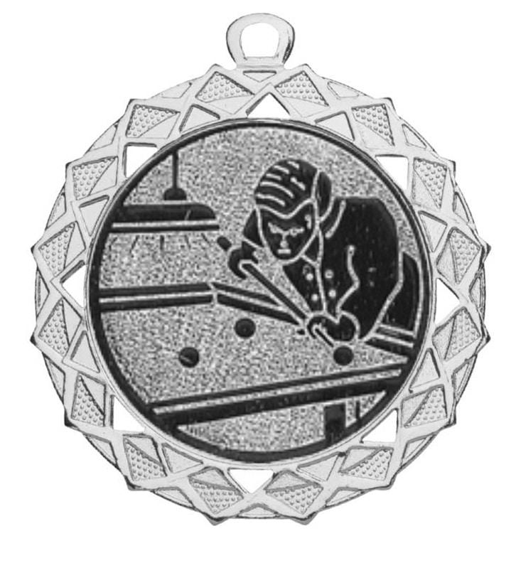biljart medaille zilver