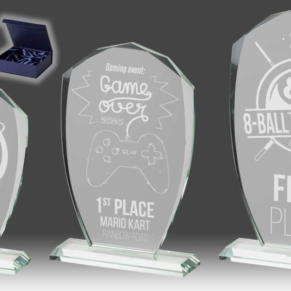 B352 - glazen award