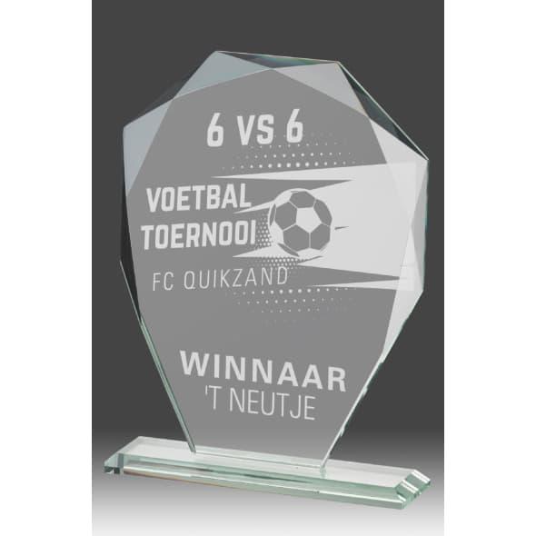 B354 - glazen award