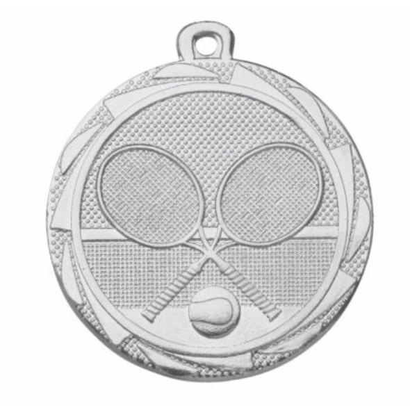 medaille tennis zilver