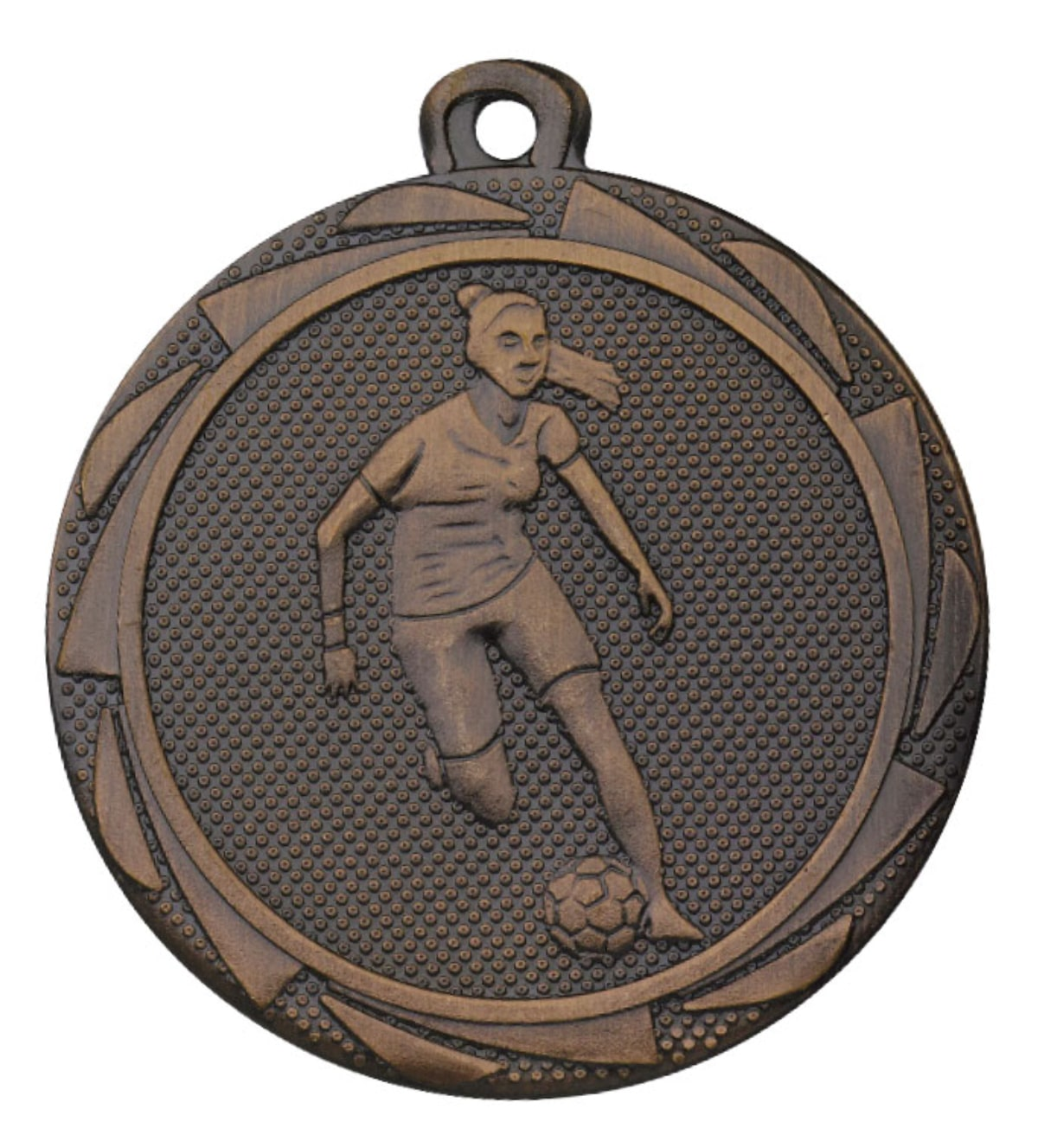voetbal medaille meisjes