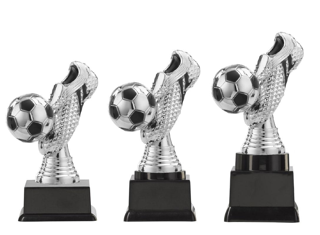 voetbal bekers zilver