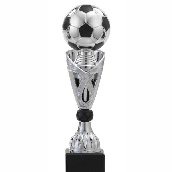 voetbal bokaal zilver