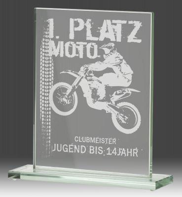 Glazen award B326